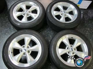 09 Ford Mustang Factory 17 Wheels Tires Rims 3589 7R33 1007 CA