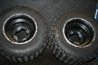 Yamaha Raptor 250 YFZ450 Rear Wheels Tires Rim Stock