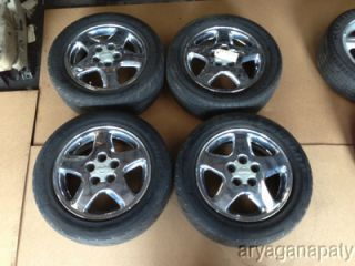 95 96 97 98 Nissan 240sx Wheels Rims Stock Factory 16 Chrome