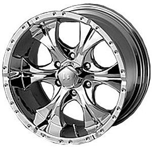 American Racing 7918934212 Helo Series 791 Chrome Wheel