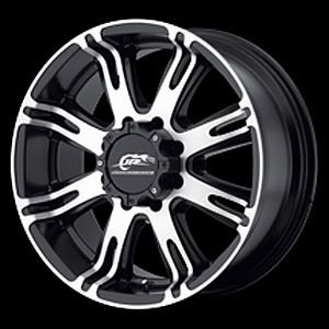 American Racing 70878568500 Ribelle Series 708 Black Wheels