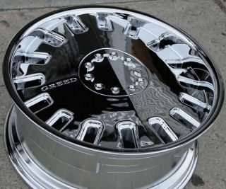 Greed Rogue 832 20 Chrome Rims Wheels Cadillac cts STS DTS GM