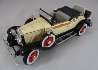 1927 Cadillac 314A Roadster Convertible Coupe Scale 1 32 Signature