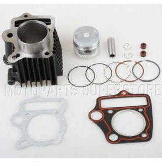 47mm 70cc Cylinder Piston Ring Gasket Kit ATV Quad Pit Bike Dirt Bikes