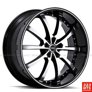 22 Status KNIGHT10 S826 Wheels Rims BMW 740i 750i 760i x5 x6 Wheels
