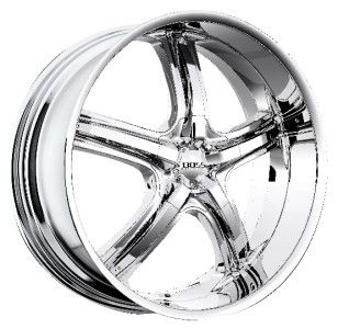 24 inch 24X10 Boss 333 Chrome Wheel Rim 6x135 F150 Expedition