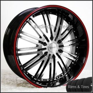22 inch Wheels and Tires Chevy Ford Cadillac QX56 H3