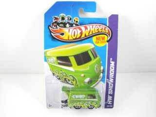 2013 New Model Hot Wheels Showroom Volkswagen VW Kool Kombi