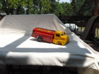 Vintage Toy Pressed Steel Structo 66 Fuel Gas Tanker Truck