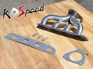 Stainless Steel T304 4 1 Exhaust Header Manifold 05 10 Chevy Cobalt