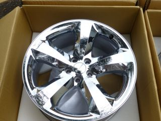 2012 DODGE CHALLENGER CHARGER HEMI R/T 20 CHROME ALUMINUM RIMS WHEELS