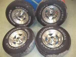 American Racing 15 Wheels Rims Jeep Cherokee Wrangler