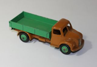 Dinky Toys 30M 414 Dodge Tipping Truck Tan Green RARE