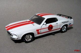 Ford Mustang Boss 302 Trans Am Series   143 diecast race car