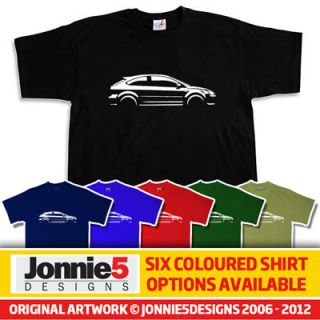 STYLISH FORD FOCUS ST INSPIRED CAR T SHIRT   CHOOSE FROM 6 COLOURS (S