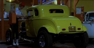 American Graffiti THX 138 License Plate *Metal Stamped* '32 Ford