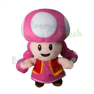 NEW Nintendo Super Mario Bros 9 TOADETTE Figure Plush Doll Toy