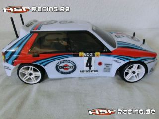 HSP RC OnRoad Historic Rally Car in Lancia Delta RTR