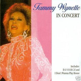 TAMMY WYNETTE   IN CONCERT CD ALBUM (A692)