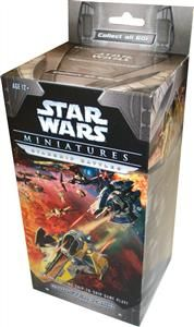 Star Wars Miniatures Starship Battles Booster