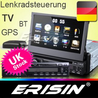 Erisin ES823GD 7 HD Autoradio DVD player touch screen TV GPS BT RDS