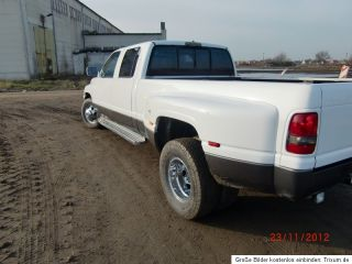Dodge RAM 3500 Dually 12V Cummins Turbo Diesel AHK TÜV 4 türige