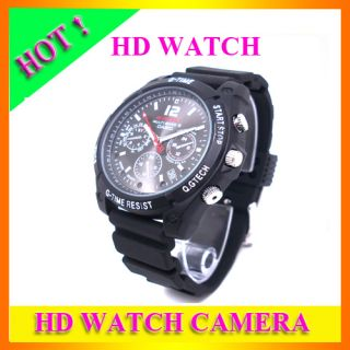 8G HD Night Vision 720P IR Waterproof Mini DVR Spy Watch Camera Sport