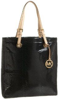 MICHAEL Michael Kors Jet Set Python Tote,Black,one size Shoes