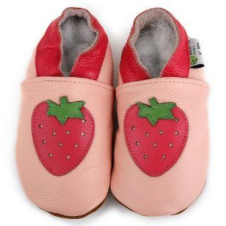 Augusta Baby Strawberry Soft Sole Leather Baby Shoe (6 12M) Shoes