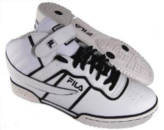 Fila Mens F 13 Mens White/Black Size 12 Shoes