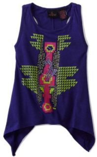 Baby Phat   Kids Girls 7 16 Sharkbite Tank Top, Purple