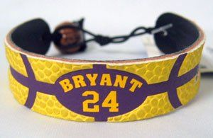 Los Angeles Lakers Kobe Bryant Team Color Basketball