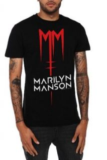 Marilyn Manson MM Logo Slim Fit T Shirt Size  X Small