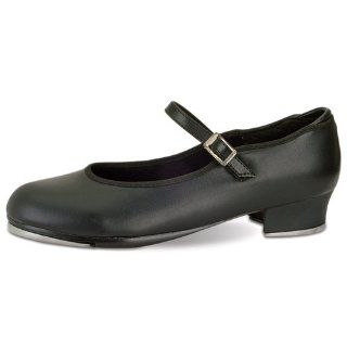 Girls Black Single Strap Non Skid Tap Shoes Size 7 3 Danshuz Shoes