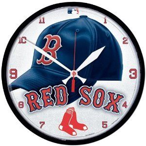 The Boston Red Sox Baseball Large 12 Inch Wall Clock