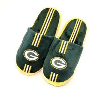 Green Bay Packers Mens Slippers House Shoes