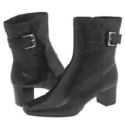 Bandolino Noreena Black Leather Boots