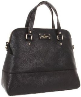 Kate Spade New York Grove Court  Large Maise Satchel,Black