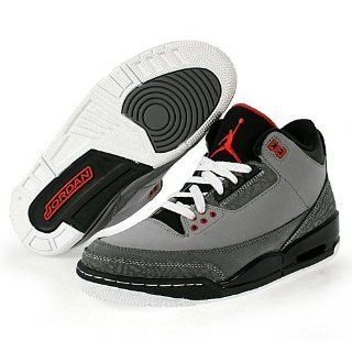 Shoes [136064 003] Stealth/Varsity Red Light Graphite Black Mens Shoes