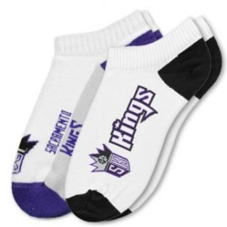 NBA Sacramento Kings Mens Two Pack No Show Socks Clothing