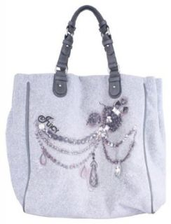 Juicy Couture Sparkle Bow Tote YHRU2147 (Heather Cozy) Shoes