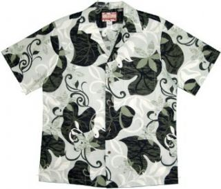 Abstract Vines Mens Hawaiian Aloha Cotton Shirt Clothing