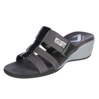 AK Anne Klein Womens Impulse Fabric Sport Sandal