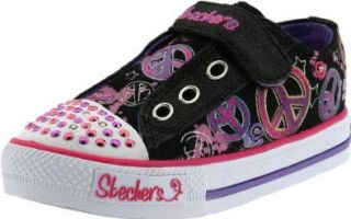 Skechers Twinkle Toes S Lights Jazzy Girl Sneaker (Toddler) Shoes