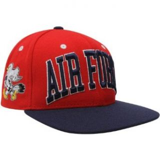 NCAA Zephyr Air Force Falcons Red Black Superstar Snapback