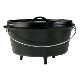 Lodge Logic 5 quart Deep Camp Dutch Oven