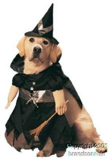 Pet Witch Dog Halloween Costume For Small Dogs Clothing