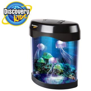 Discovery Kids Multi colored LED Animated Jellyfish Lamp