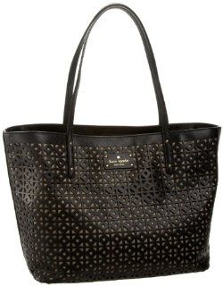 Kate Spade Garden Place Small Coal Tote,Black,one size Shoes