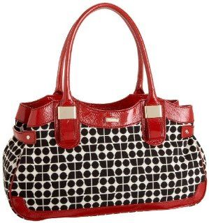 Spade Cornelia Street Noel Stevie Satchel,Black/Red,one size Shoes